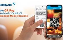 Thanh toán nhanh với QR Pay trên Eximbank Mobile Banking