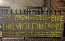 Câu chuyện bất ngờ đằng sau chiếc xe đạp bị đánh cắp: Hóa ra lòng tốt vẫn còn đây!