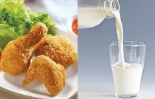 Hàng loạt bệnh xuất hiện khi cùng lúc ăn thịt gà và uống sữa tươi, cần tránh ngay!