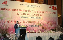 Doanh nghiệp Nhật rót 981 triệu USD vào Hà Nội trong 2 năm
