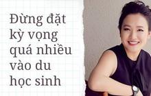 Giám đốc Facebook Việt Nam Lê Diệp Kiều Trang: Đừng đặt kỳ vọng quá nhiều vào du học sinh