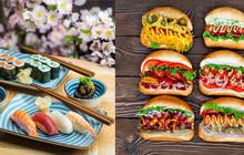 """Sự khác biệt """"một trời một vực"""" giữa bữa ăn được coi là lành mạnh nhất thế giới của người Nhật và những phần ăn lớn, nhanh gọn của người Mỹ"""