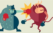 Áp lực bán tăng vọt tại nhóm cổ phiếu ngân hàng, chứng khoán, VnIndex tiếp tục mất hơn 7 điểm