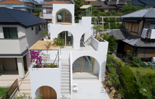 Tròn mắt ngắm ngôi nhà ống cực xinh ở Nhật