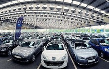 Xe con nhập khẩu từ Đức tăng đột biến