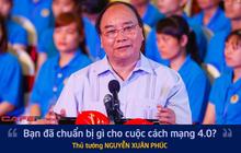 Công nhân dệt may đặt câu hỏi về cách mạng 4.0  và câu trả lời đặc biệt từ Thủ tướng
