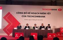 """Sau niêm yết, cổ đông Techcombank sẽ """"ngập"""" trong cổ tức bằng cổ phiếu với tỷ lệ 200%"""