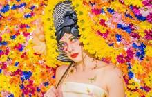 Bộ sưu tập thời trang từ hoa tuyệt đẹp của các nhà thiết kế Hoàng gia Anh