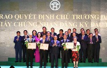 Hà Nội: Loạt dự án BĐS lớn của BRG, Vingroup, Him Lam... chính thức được trao giấy chứng nhận đầu tư