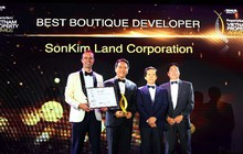 """SonKim Land được vinh danh """"Nhà phát triển BĐS xuất sắc nhất dòng Luxury Boutique"""" của Giải thưởng bất động sản Việt Nam 2018"""