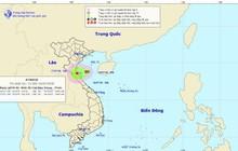 Áp thấp nhiệt đới đang áp sát Thanh Hóa - Hà Tĩnh