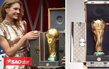 Tiết lộ về chiếc vali sang chảnh của nhà mốt Louis Vuitton đặt cúp vàng World Cup 2018