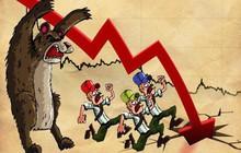Chứng khoán châu Á đồng loạt giảm giá, VN-Index rơi gần 8 điểm