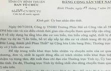 Bình Thuận dừng chuyến đi nước ngoài của các cán bộ do doanh nghiệp tài trợ