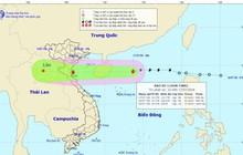 Bão Sơn Tinh hướng vào các tỉnh từ Hải Phòng - Hà Tĩnh