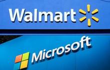 Microsoft bắt tay với chuỗi siêu thị Walmart nhằm lật đổ Amazon trên mọi phương diện