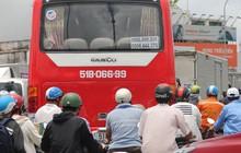 """Đại lộ """"dài 300 năm"""" ở Sài Gòn bị sụt lún, giao thông trục Đông - Tây bị phong tỏa nhiều giờ"""