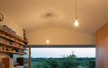 Ngôi nhà ở Nhật có thiết kế mở, gần gũi với thiên nhiên