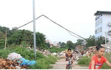 Ảnh: Dự án Đường vành đai nghìn tỷ trở thành nơi đổ rác thải