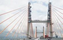 Ảnh: Hai tuần trước khi thông xe, cầu hơn 7.000 tỷ đồng nối Hải Phòng - Quảng Ninh thế nào?