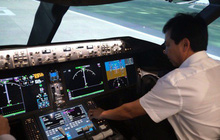 Ngắm tổ hợp buồng lái mô phỏng siêu máy bay A350, Boeing 787 đầu tiên tại Việt Nam