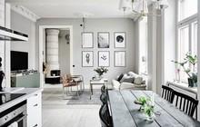 Căn hộ trắng đẹp đến từng milimet với phong cách Scandinavia