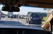 Chủ xe Lexus biển tứ quý 8 có mặt trên xe khi xảy ra tai nạn ở cao tốc