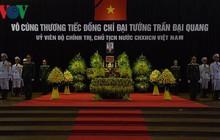 Lễ viếng Chủ tịch nước Trần Đại Quang