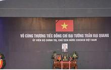Lễ viếng Chủ tịch nước Trần Đại Quang tại quê nhà Quang Thiện