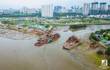 Cận cảnh cây cầu qua đảo Kim Cương đang khiến bất động sản quận 2 tăng giá