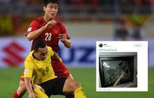 CĐV Malaysia tức giận, đăng ảnh đập tivi trên mạng xã hội sau khi đội nhà để thua Việt Nam