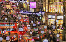 Những khoảnh khắc giao mùa ở London: Cả thành phố được trang hoàng lộng lẫy cho mùa Giáng sinh đang đến