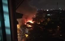 Người dân thắp hương bất cẩn, lửa thiêu rụi đình Thọ Tháp ở Hà Nội