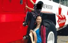 Hình ảnh hiếm của bà Mạch Vãn Chu ở Canada bị rò rỉ