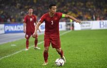 Quế Ngọc Hải chưa bình phục chấn thương sau pha vào bóng của cầu thủ Malaysia
