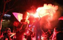 """Người Sài Gòn 'nổi loạn"""" thâu đêm mừng Việt Nam vô địch AFF Cup 2018"""