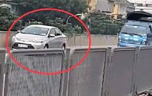 Tước GPLX tài xế điều khiển ô tô đi lùi ở vành đai 3 trên cao
