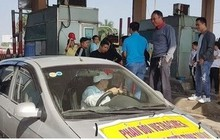 Nhiều lái xe phản đối thu phí trạm BOT Bắc Thăng Long – Nội Bài 