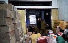 'Mục kích' cơ sở sản xuất bánh kẹo bẩn ở Hà Nội ngày cận Tết