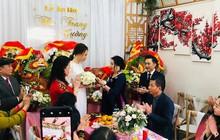 Cận cảnh đám hỏi Cường Đô La và Đàm Thu Trang: Doanh nhân Như Loan xúc động trao nhẫn cho cô dâu
