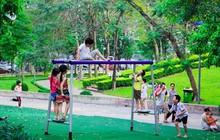 Khi công viên xanh trở thành nơi gắn kết gia đình