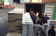 Bắt hơn 21 tấn sữa bột nhập khẩu trái phép từ New Zealand về Hải Phòng