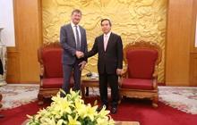 Tập đoàn Total muốn tham gia vào các dự án trọng điểm trong ngành điện của Việt Nam