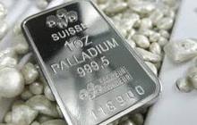 Thị trường ngày 10/12: Palađi sát mốc 1.900 USD, giá đồng, đường, cà phê đều cao nhất trong nhiều tháng