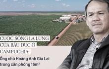 Cuộc sống lạ lùng của Bầu Đức ở Campuchia: Ông chủ Hoàng Anh Gia Lai trong căn phòng 15m2