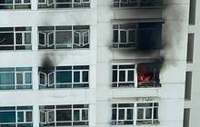 CLIP: Cháy ở tầng 12 chung cư Hoàng Anh Goldhouse - TP HCM