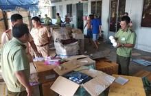 Phát hiện hơn 300 thùng mỹ phẩm, thuốc đông dược nhập lậu