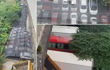Bãi xe lậu dưới gầm cầu Thăng Long: Sở GTVT Hà Nội lên tiếng