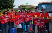 """""""Chịu chơi, chịu chi"""" như Dược Phúc Vinh: Thưởng nóng nhân viên bay Philipines cổ vũ bóng đá"""