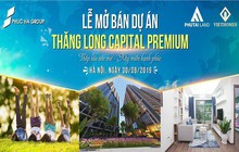 Sự kiện ra mắt căn tầng cuối cùng đợt 1 và tri ân khách đợt 1 của Thăng Long Capital